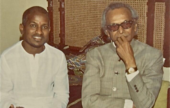 With legend Naushad