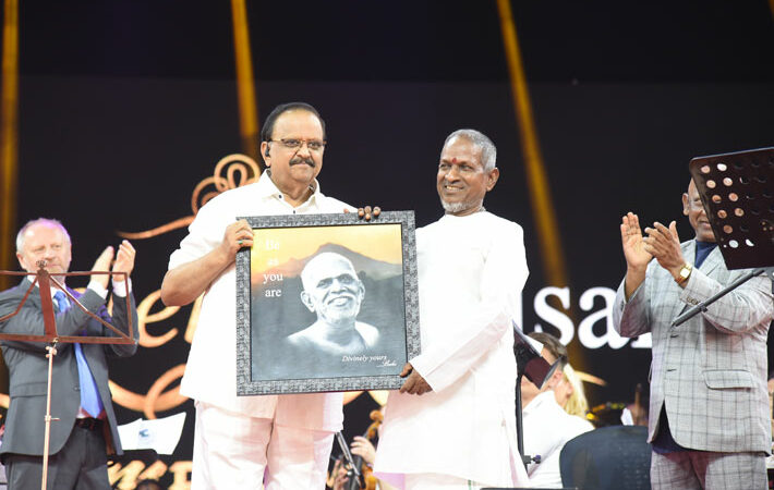 ilaiyaraaja june 2 2019 birthday function spb